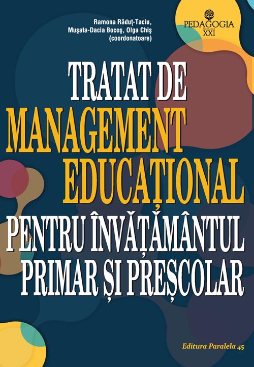 tratat_management_educational_Bocos_2015_coperta1